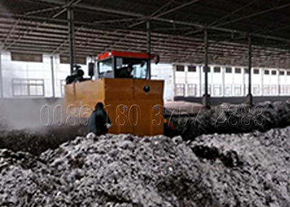 500m3 per hour crawler type turning machine