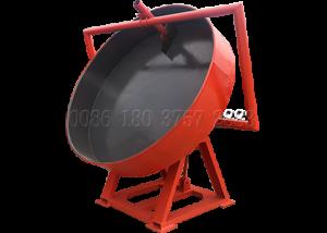 93% Pan poultry manure granulating equipment