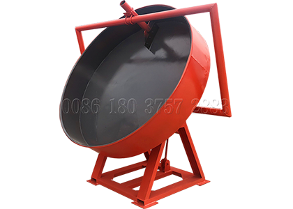 93% Pan poultry manure granulating equipment