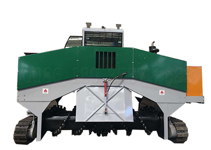 Cow dung organic fertilizer composting machinery