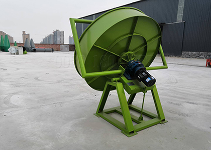 Disc Cow Dung Granulator
