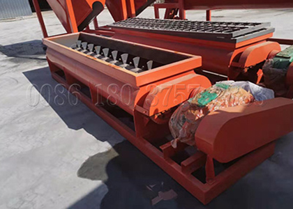 Double Shaft Horizontal fertilizer mixing equipment