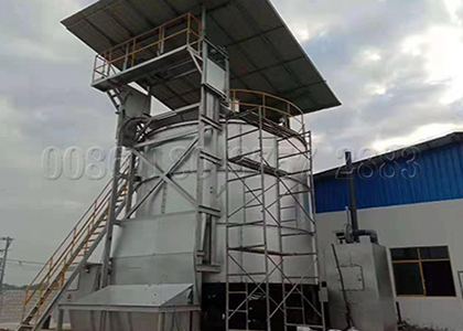 Fermenter pot for organic waste recycling