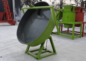 Mini disc npk compound fertilizer granulation equipment
