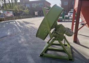 Pan fertilizer granulation machine