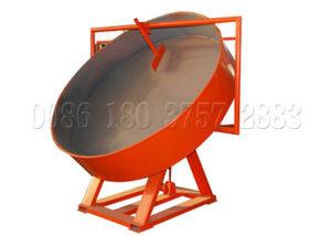 Small-scale pan powder pelletizer