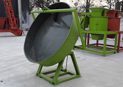 Wet granulation of Pan powder granulating machine
