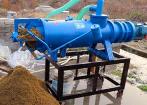 cow dung dewatering machine for delivering