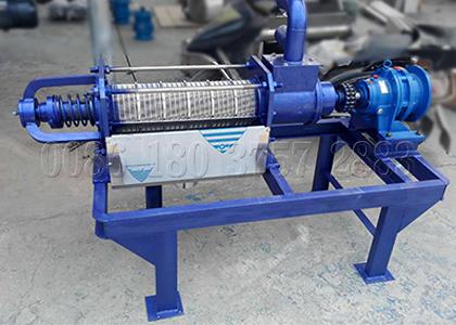 fertilizer dewatering machine for small fertilizer plant
