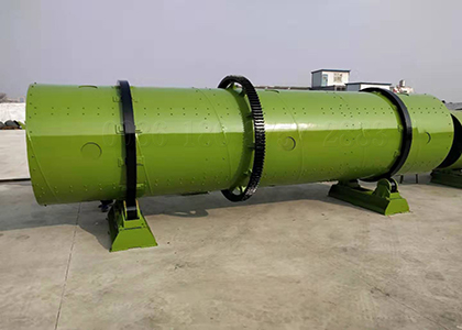 middle capacity rotary drum granulator
