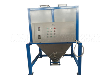 double bucket fertilizer bagging machine