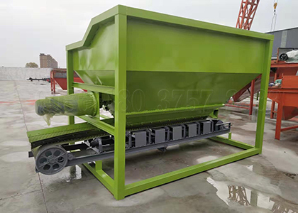 batching machine for powdery fertilizer batching