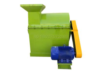Small size semi-wet organic fertilizer powder making machine